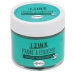 Aladine Izink Embossing Powder - Relief Turquoise