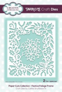 Creative Expressions Dies by Cathy Shuttleworth - Paper Cuts Collection - Festive Foliage Frame