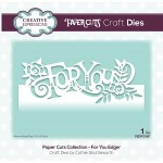 Creative Expressions Dies by Cathie Shuttleworth - Paper Cuts Collection - For You Edger