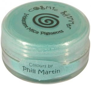 Cosmic Shimmer Mica Pigment - Phill Martin Graceful Mint