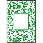 Crafts Too Embossing Folder - Floral Frame