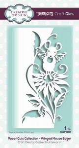 Creative Expressions - Paper Cuts Collection - Winged Mouse Edger