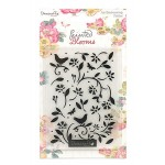 Dovecraft - Embossing Folder - Painted Blooms