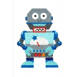 Crafts-Too Diamond Art Card Kits - Robot