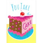 Crafts-Too Diamond Art Card Kits - Take the Cake