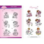 Pergamano - Flower Mini Poppets Stamp Set