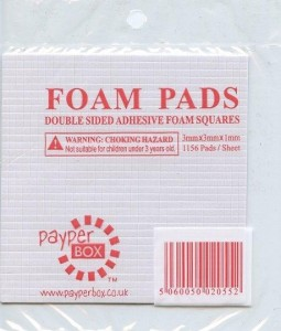 Payper Box Double Sided Adhesive Foam Squares