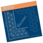 Clarity Groovi - George Lace Frame Duet Grid
