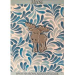 Sharons Card Crafts - Moose