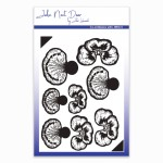 John Next Door Clear Stamp - Pansy