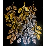 Metal Leaves 4