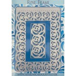 Sharons Card Crafts - Rose Frame