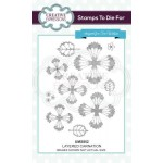 Creative Expressions Pre-Cut Rubber Stamps by Sue Wilson - Finishing Touches Collection -  Layered Carnation