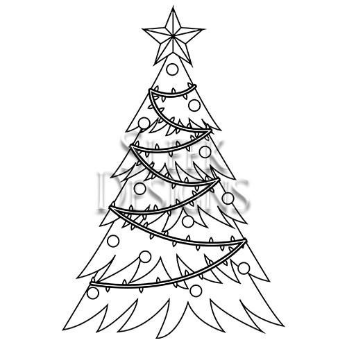 Christmas Designs.Sleek Designs Christmas Tree With Ribbon