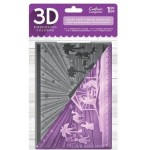 Crafters Companion Embossing Folder - 3D Silent Night
