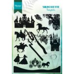 Marianne Design Clear Stamps -Silhouette Fairytales