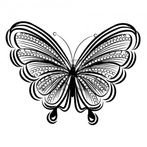 Sleek Designs - Frilly Butterfly