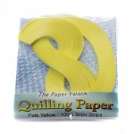 The Paper Palace Quilling Paper - 3mm Pale Yellow