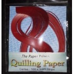 The Paper Palace Quilling Paper - 3mm Cerise