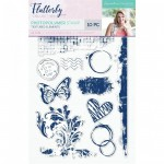 Crafters Companion - Flutterby Textured Elements
